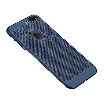 Stuff Certified® iPhone SE - Ultra Slim Case Heat Dissipation Cover Cas Case Blue