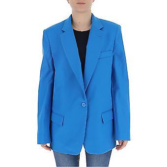 Attico Ats20s09085 Women's Light Blue Cotton Blazer