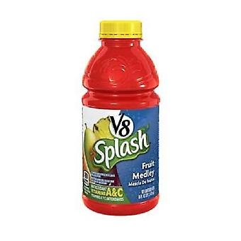 V8 Splash Fruit Medley-( 473 Ml x 12 Flaschen )