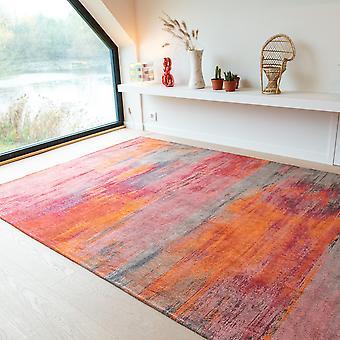 Louis De Poortere Designer Monetti Rugs In 9116 Hibiscus Red