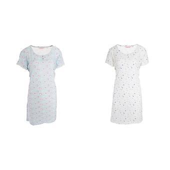 Cottonique Womens/Ladies Jersey Night Dress