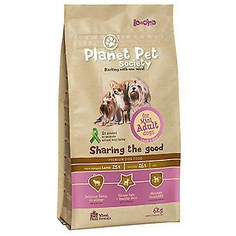 Planet Pet Mini Lamb & Rice Взрослый корм для собак для миниатюрных взрослых собак