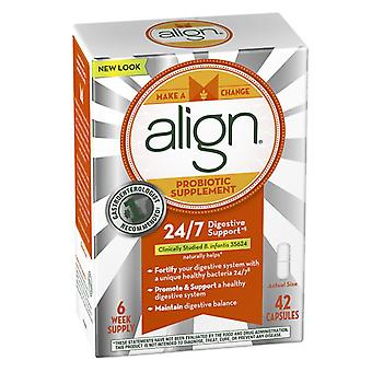 Align probiotic supplement, 24/7 digestive support, 42 ea