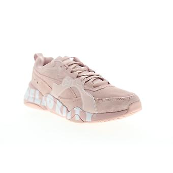 Puma Nova 2 X Hello Kitty  Womens Pink Suede Low Top Sneakers Shoes