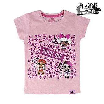 Child's Short Sleeve T-Shirt LOL Surprise! 74043 Pink