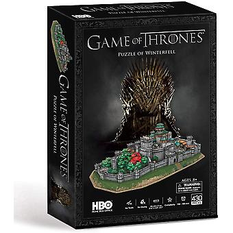 Paul Lamond Game of Thrones Winterfell 430 Peça 3D Jigsaw Puzzle