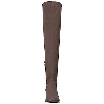 Kenneth Cole New York Femmes Adelynn Over The Knee Boot Low Heel Stretch Eng ...