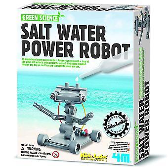 Great Gizmos 4M Science vert eau salée puissance Robot