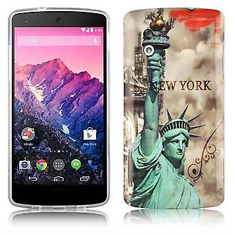 Case para LG Google Nexus 5 Phone Case - Capa - Robusto Ultra Slim Capa traseira tampa traseira