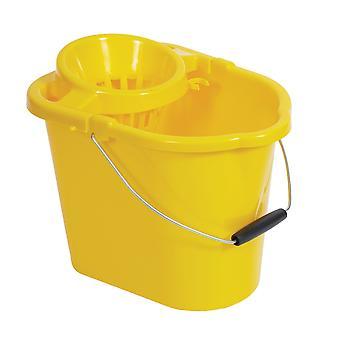 Robert Scott Yellow Mop Bucket & Wringer