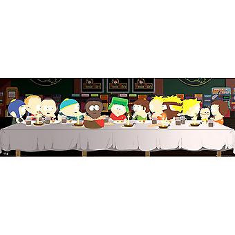 South Park Last Supper Door Juliste