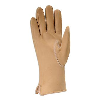 Nordvek Smooth Suede Leather Gloves With Sheepskin Inner 319-99