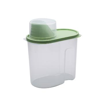 Grain storage container for dry food, plastic transparent storage tank, kitchen storage room durable food, food container