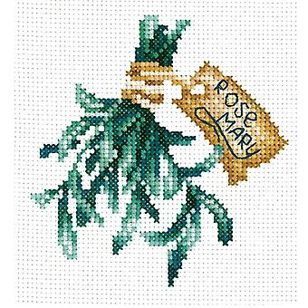 Andriana Cross Stitch Kit - Spicy Herbs - Rosemary