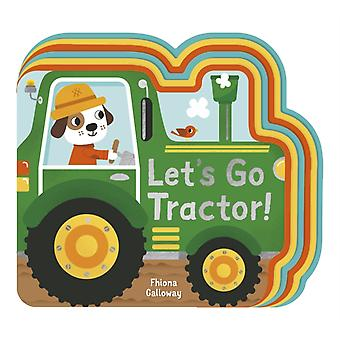 Lets Go Tractor by Fhiona Galloway