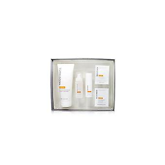 Brightening system kit: enlighten cleanser, enlighten serum, enlighten eye cream, enlighten skin brightener spf 35, enlighten pigment controller 5pcs