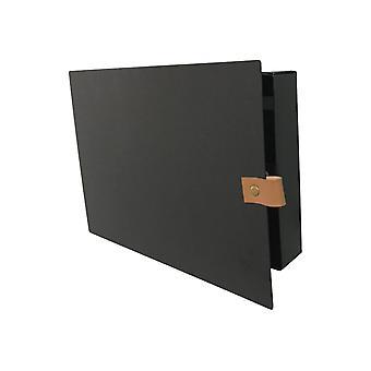 Key Cabinet Metal Black