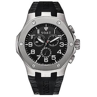 V.O.S.T. Germany V100.024 Titanium Chrono men's watch 44mm