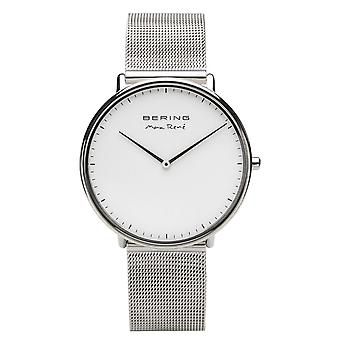 Bering Men's Watch Watch Max René Ultra Slim - 15738-004 Mesh Band