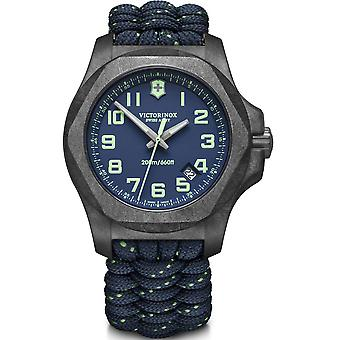 Victorinox I.N.O.X Grey Carbon Case Space Tested Super Luminova Men's Watch Set 241860
