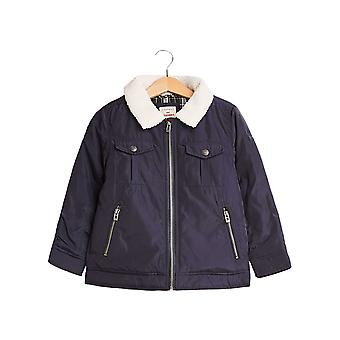 Esprit Boys' Padded Outdoor Jacket With Faux Fur Collar