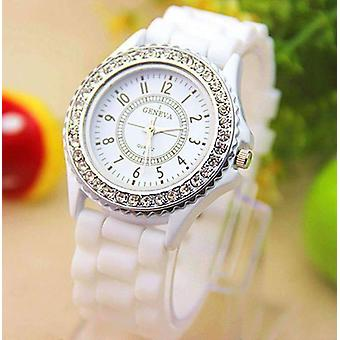 Sparkly silky silicone watch for woman - choose your color