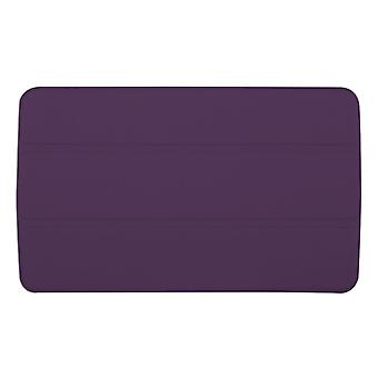 "Slim Compact PU Magnetic Leather Case Cover for LG G Pad F 8""[Purple]"