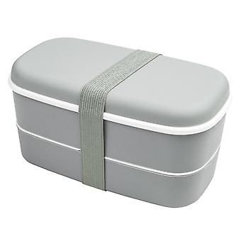 Lunch box, bento Box - Grey