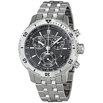 Tissot T067.417.11.051.00 Silver Stainless-Steel With Black Dial Men's Watch