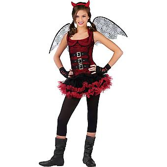 Natt Devil barn kostym