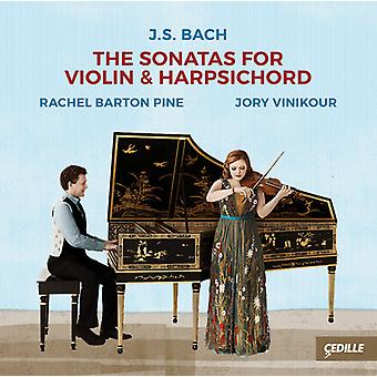 Bach, J.S. / Pine / Vinikour - Sonatas for Violin & Harpsichord [CD] USA import
