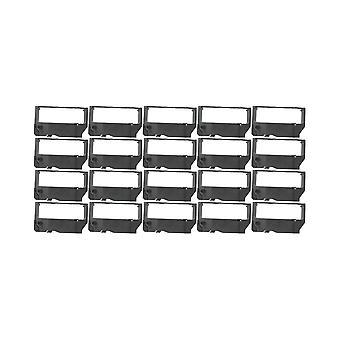 RudyTwos 20 x erstatning for Star RC200B båndet enheten svart kompatibel med RC 200, SCP 700, SP 200, 2000, 212, 216, 2320, 2360, 242, 246, 2520, 2560, 298, 500