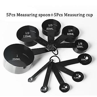 5/10pcs Kitchen Measuring Spoons , Teaspoon , Coffee Sugar Scoop Cake  - Baking