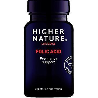 Higher Nature Folic Acid Vegetarian Tablets 90 (FOL090)