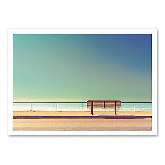 Art-Poster - The Bench - Arnaud BRATKOVIC 50 x 70 cm