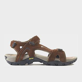 North Ridge Men's Trekker Walking Sandals Dark Brown