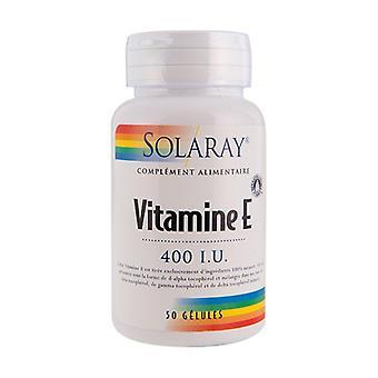 Vitamin E 50 capsules (400UI)