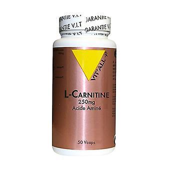 L-karnitin 250mg 50 grönsakskapslar