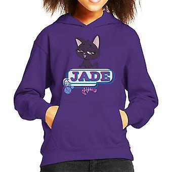 Littlest Pet Shop Jade Fish Bone Kid's Hooded Sweatshirt