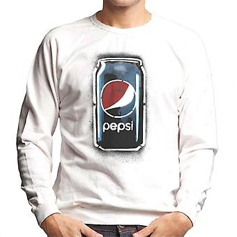 Pepsi Graffiti Can Men's Sweatshirt