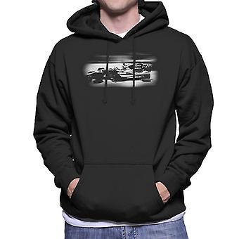 Motorsport Images Jenson Button McLaren MCL32 Monaco GP Men's Hooded Sweatshirt