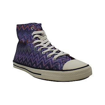 Converse Womens Fancy Hightops Stoff Hight Top Lace Up Fashion Sneakers
