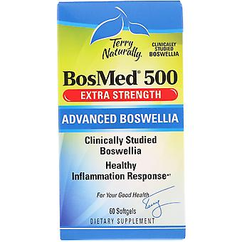 Terry Naturally, BosMed 500, Extra Strength, Advanced Boswellia, 500 mg, 60 Soft