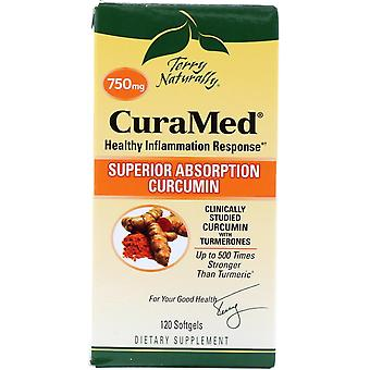 Terry Naturally, CuraMed, 750 mg, 120 Softgels