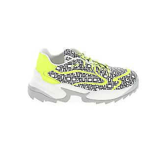 Sergio Rossi A86730mfn8829003 Femmes-apos;s Sneakers en cuir multicolore