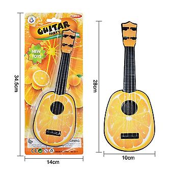 Funny Ukulele Musical Instrument Guitar Montessori Toys For Children School Play Game Education Christmas Birthday Gift