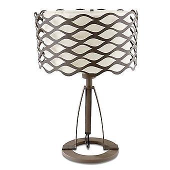 Leds-C4 - 1 Light Table Lamp Rusty Brown, E27