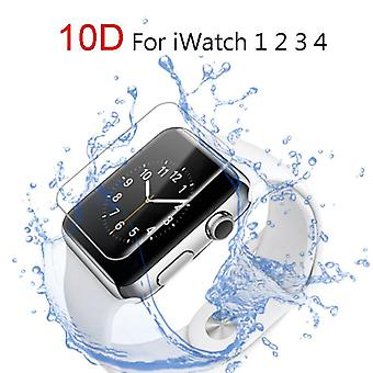 Screen Protector Clear Full Coverage Protective-film For Iwatch 4 40mm/44mm Not