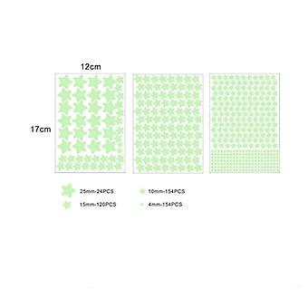 Luminous Star Dot Stickers For Bedroom, Glow In Dark Kids Room Decorations