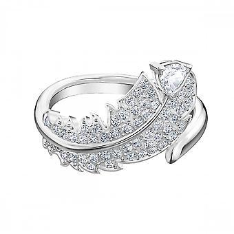 קריסטל סוורובסקי פשוט יפה טבעת 5515030